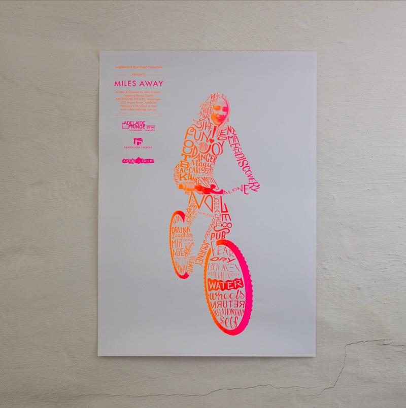Draw Studio Poster Design for Jungle Bean -Miles Away Adelaide