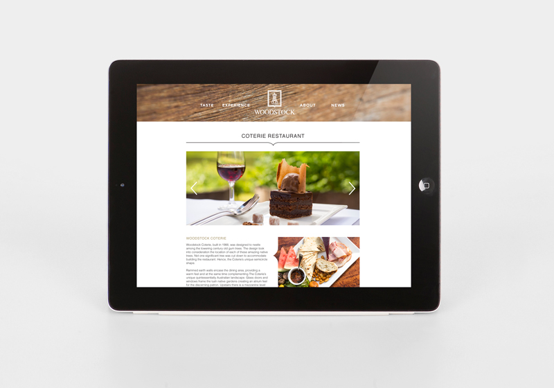Woodstock Wines Coterie Website