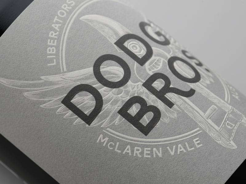 DRAW Studio Dodgy Brothers Wines McLaren Vale GSM